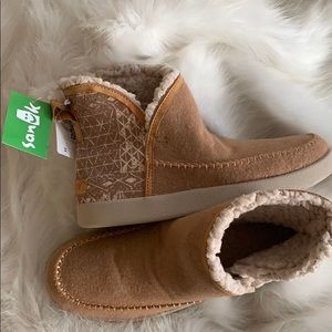 NEW Women's SANUK Bootah OJAI Brown Boots